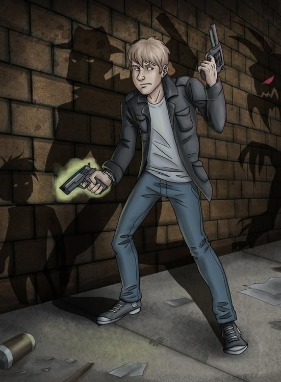 Ghost Gun - rainakuptz | ello