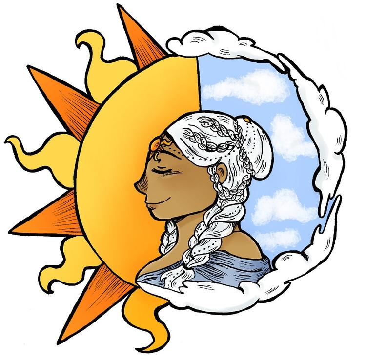 sun - illustration - norathebean | ello