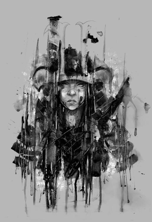 acrylic paper 2014 - painting, iannocent - iannocent | ello