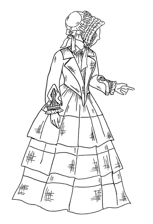 illustration, historicalfashion - norathebean | ello