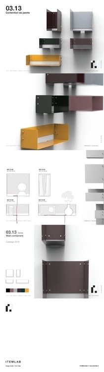 03.13 - WALL CONTAINERS Design  - itemlab | ello