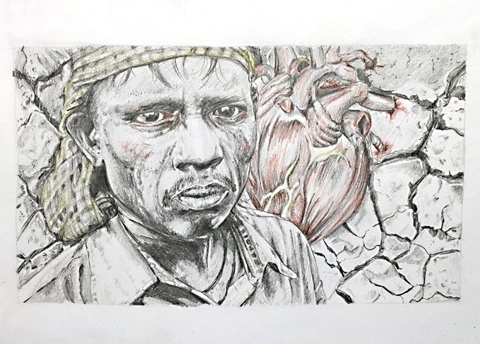 human nature 2 - illustration, drawing - quimmoya | ello
