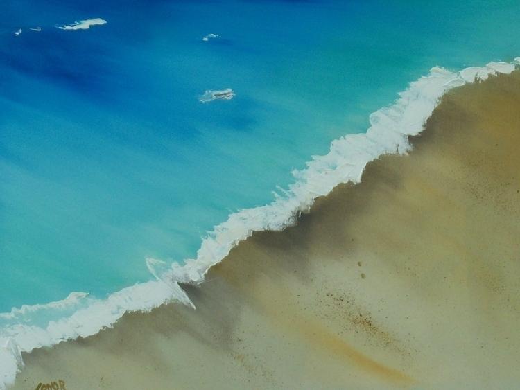 Birds Eye View. oil Canvas SOLD - irishart   ello