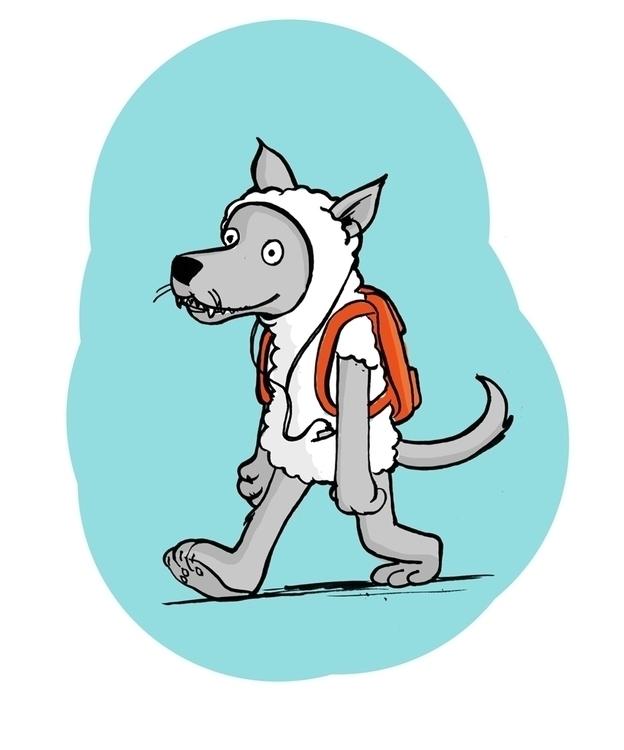 Wolf clothing - wolf - debbiejenkinson | ello