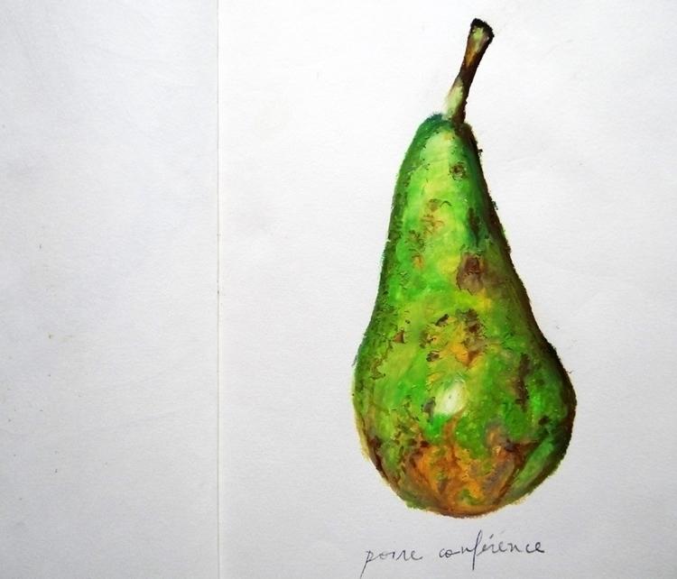 poire conferènce_Rennes, 2012 - illustration - renataribak | ello