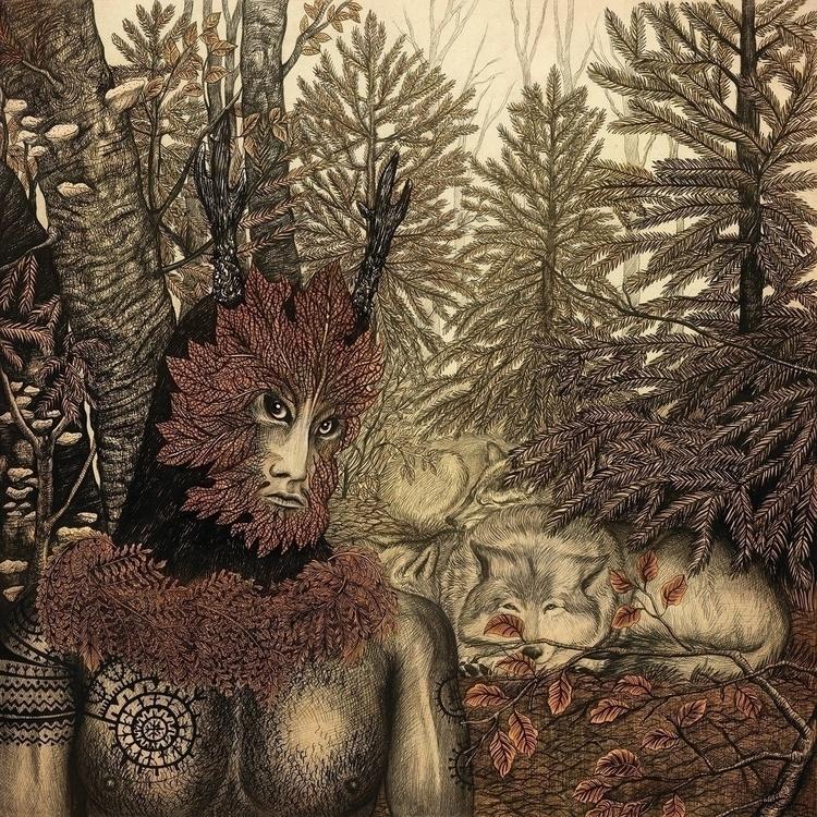 Leszy, Forest Guardian - illustration - kamaarts | ello
