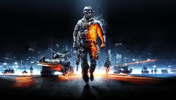 Battlefield 3 Key Art | Photosh - robertsammelin-9753 | ello