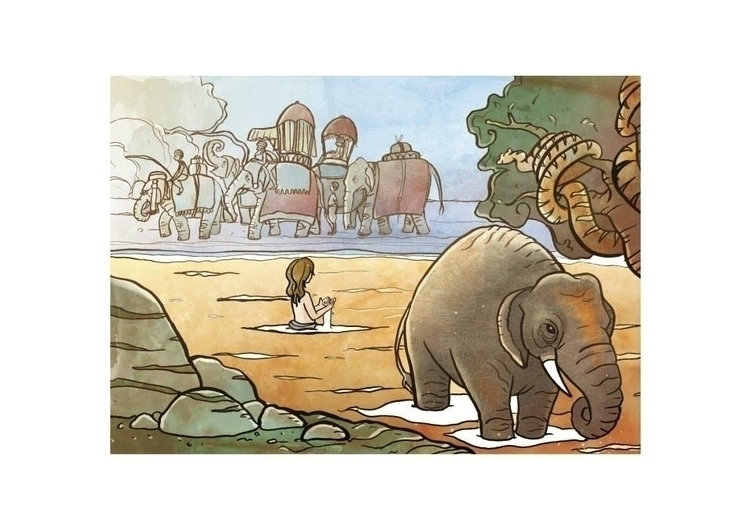 jungle Book - illustration, book - francescanavoni | ello
