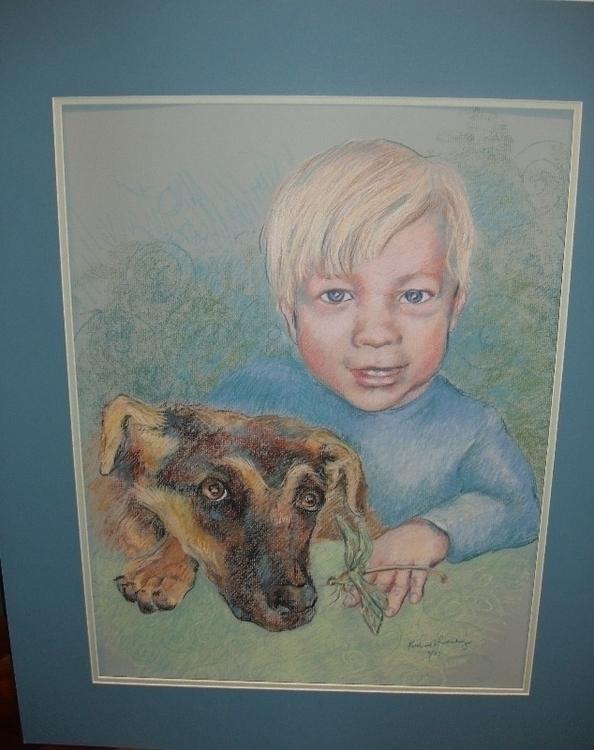 boy dog - raven-1420 | ello