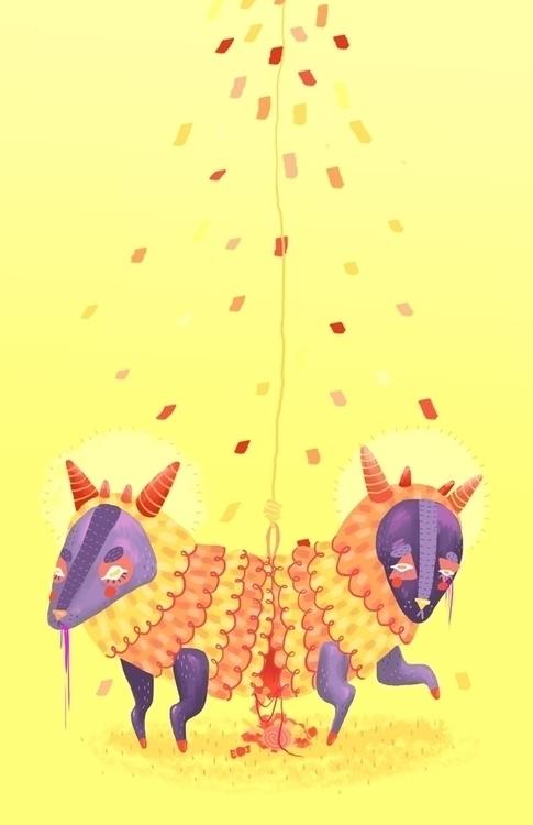 Piñata - piñata, characterdesign - sonialazo | ello