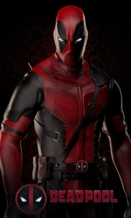 Deadpool Fanart - characterdesign - gerardlituanas | ello