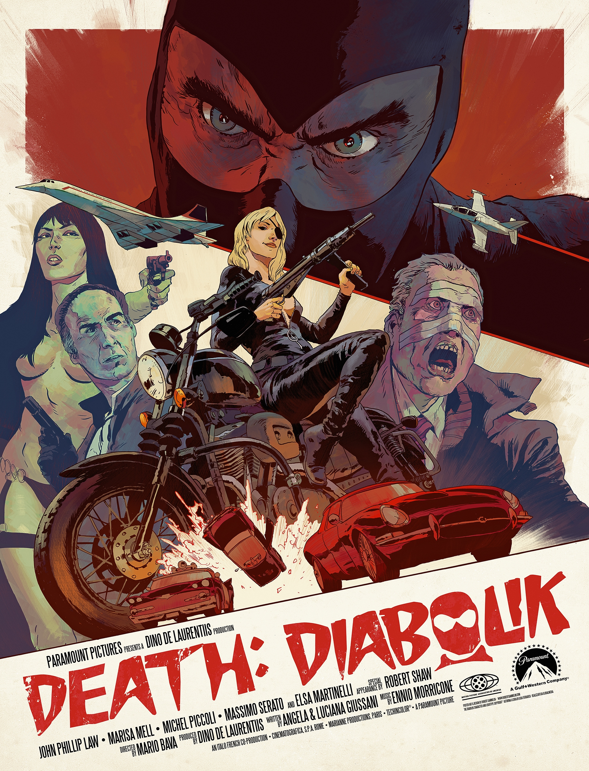 Death: Diabolik | Ink Photoshop - robertsammelin-9753 | ello