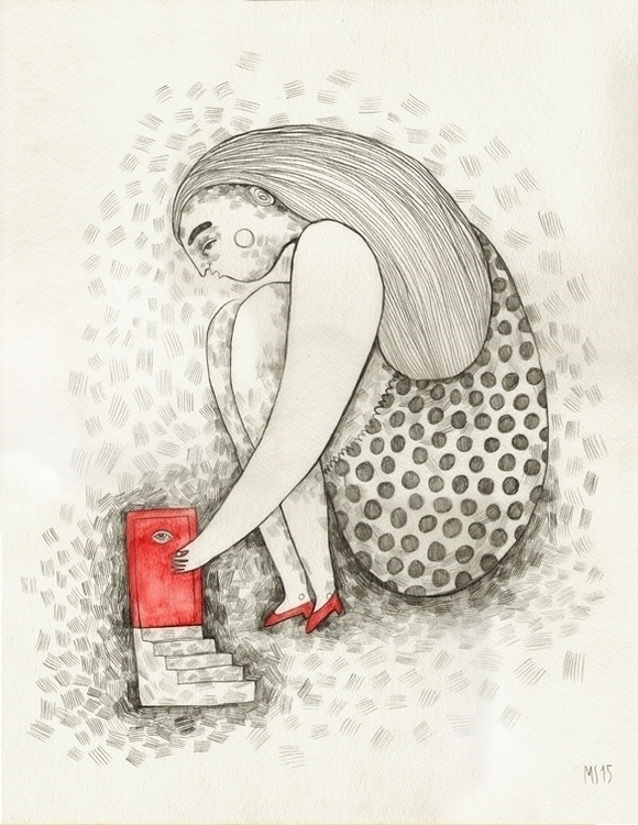 Alice wonderland - illustration - msarte | ello