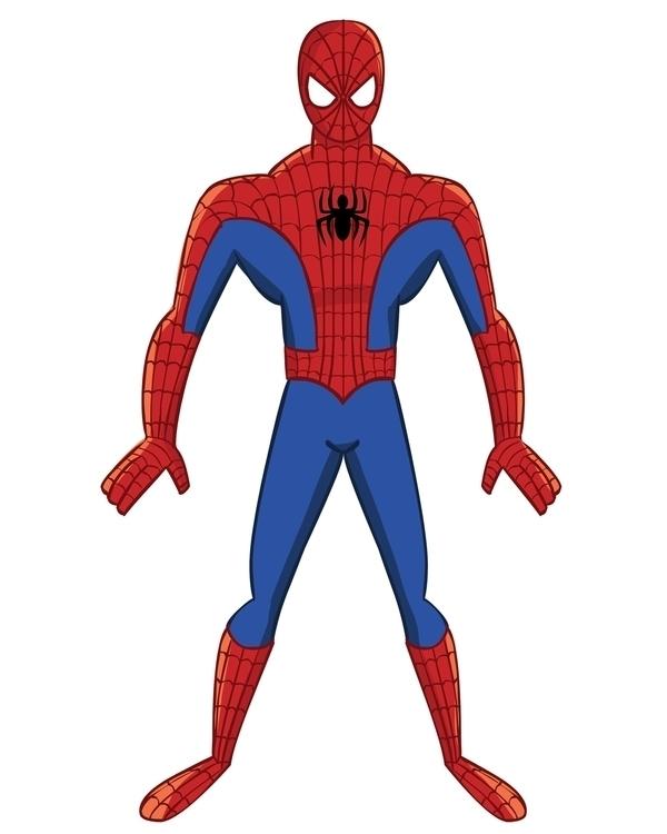 Spiderman - fanart, comics, characterdesign - mearatime   ello
