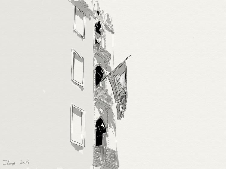 illustration, urban, florence - ilanagraf | ello
