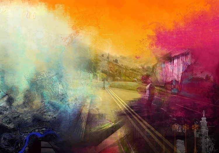 Amber. 100 70cm. Giclee Print - painting - lauren_evans | ello