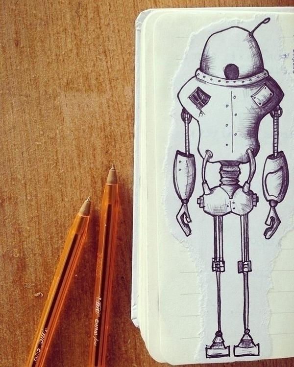 Robotics 1.1 - illustration, characterdesign - mp-1845 | ello