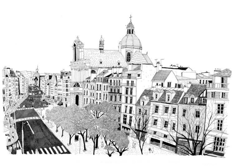 paris streets - miekevdmerwe | ello