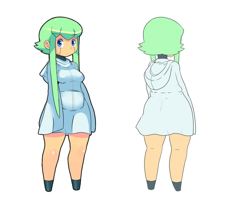 Lyn - illustration, characterdesign - chelostracks | ello