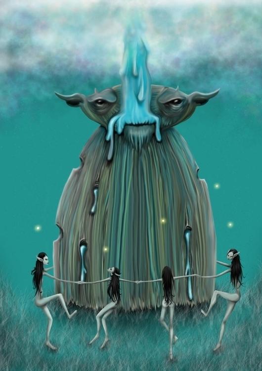 Book cover 2015 children fairy  - redrab2it | ello