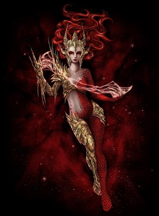 RED Witch - tenenbris | ello