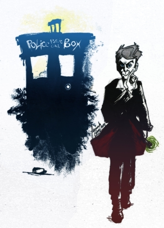 12th Doctor Rebel - illustration - feradami | ello