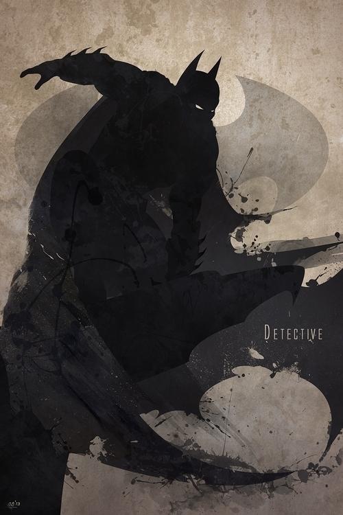 Inspired Batman, print features - digitaltheory | ello