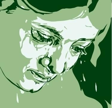 detail Crying Maiden, illo Hans - vdyej | ello
