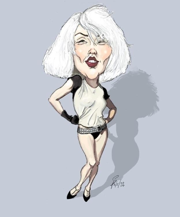 Debbie Harry - illustration - yazzum | ello