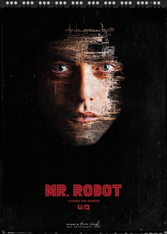 Key Art design USA Robot - film - emreunayli | ello