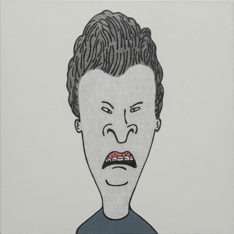 Butthead - Mixed media 35 cm 20 - akirachinen | ello