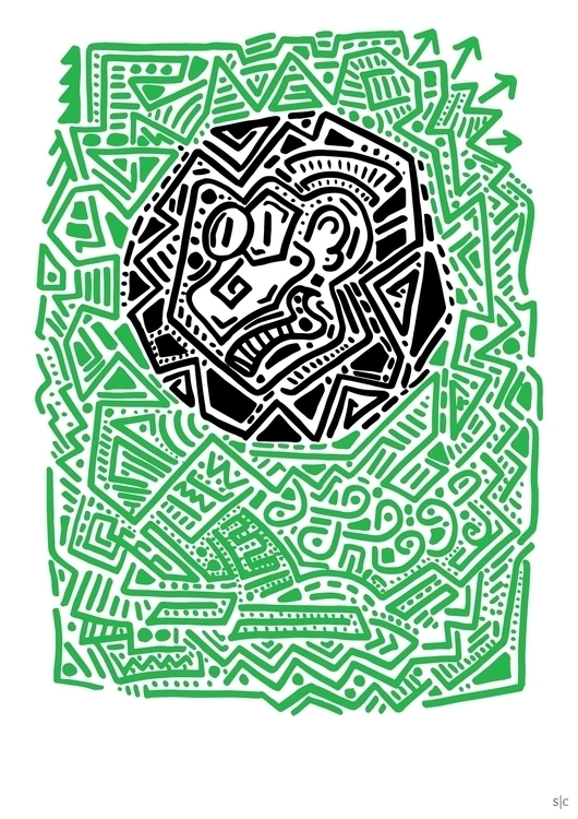 Posca marker illustration fell  - stephencunniffe | ello