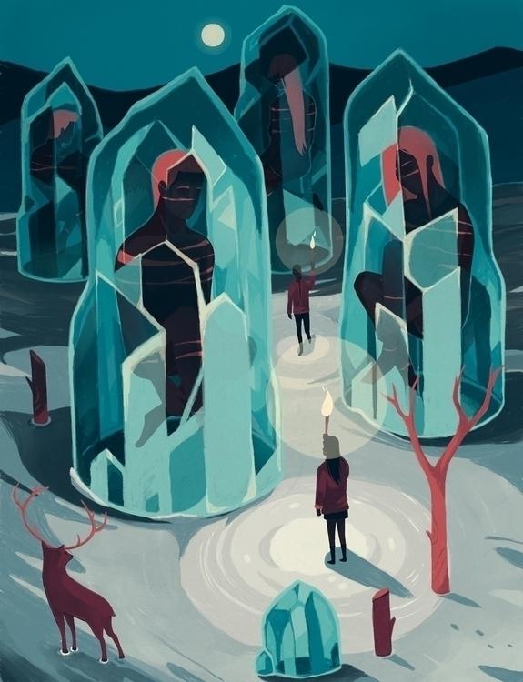 Ice age - iceage, ice, snow, iceberg - renonogaj | ello