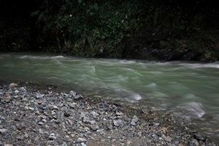 river, longexposure, dark, monochrome - francinedesign   ello