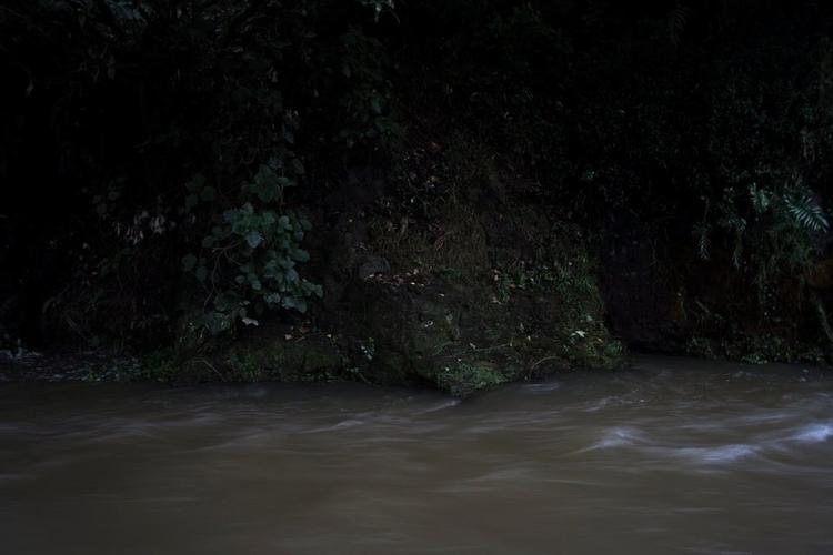 river, water, longexposure, monochrome - francinedesign   ello