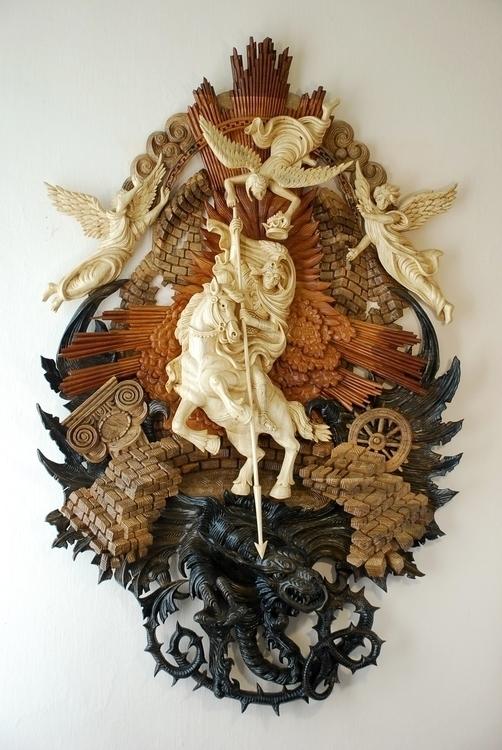 Saint George Victorious - sculpture - oleggetmanchuk | ello