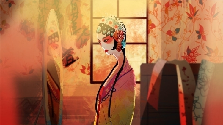 show - chinese, chineseopera, illustration - crystalkung | ello