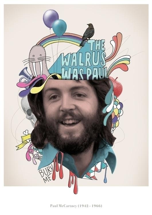 Walrus - beatles, paulmcartney, paulisdead - nazariograziano-2835 | ello
