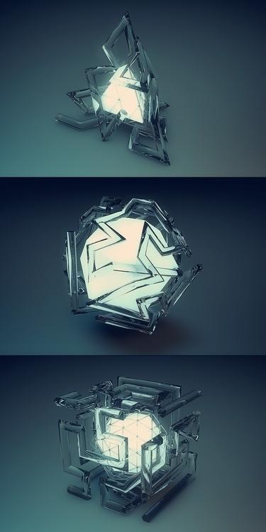 Maze Trace Modeled rendered Cin - nenart | ello