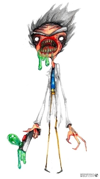 Rick Morty - rickandmorty, cartoon - wednesdaywolf-9030 | ello