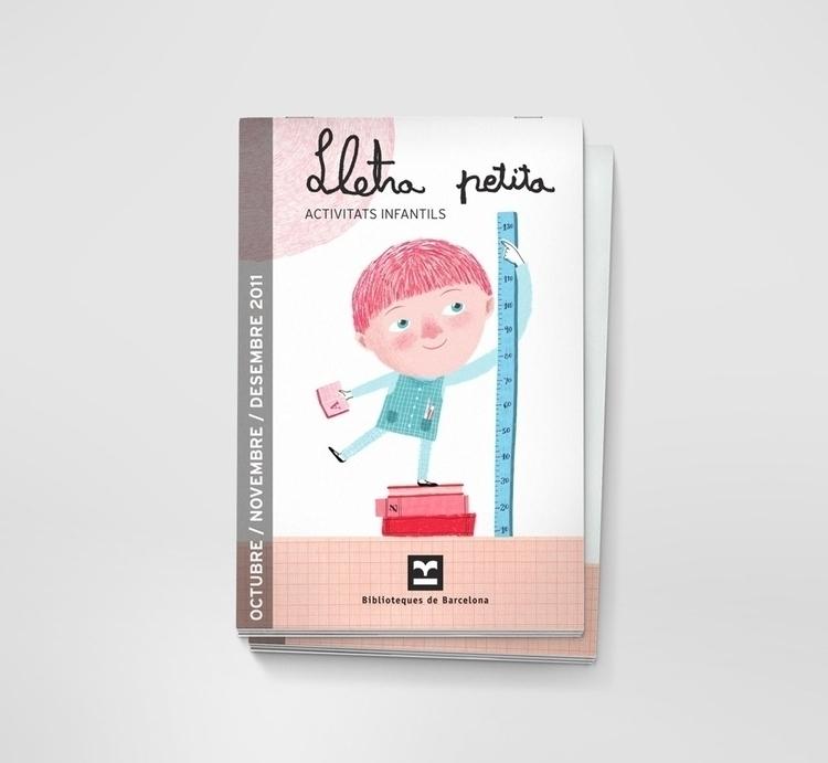 Lletra petita - library, children'sillustration - albatf | ello