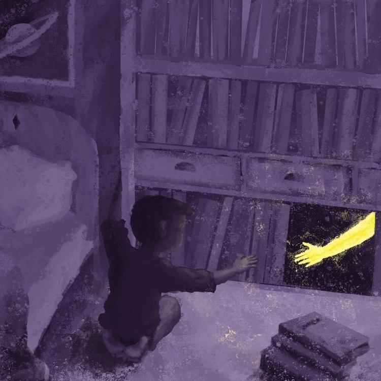 journey fairytale - illustration - prianikn | ello