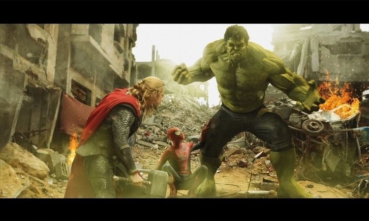 Hulk Thor - dmorson | ello