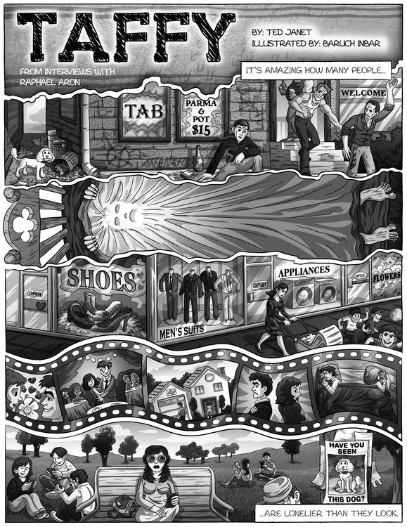 baruchinbar, illustration, graphicnovel - baruchinbar | ello