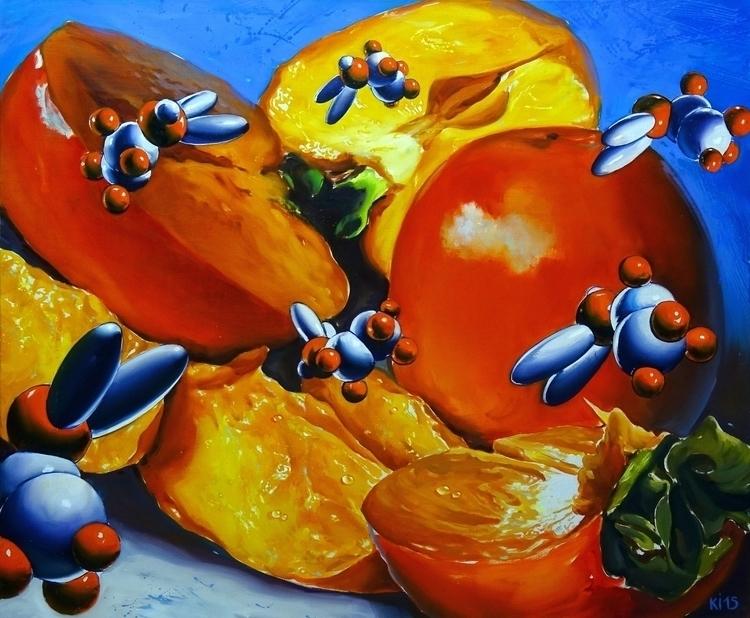 Persimmon - painting - igorkonovalov | ello