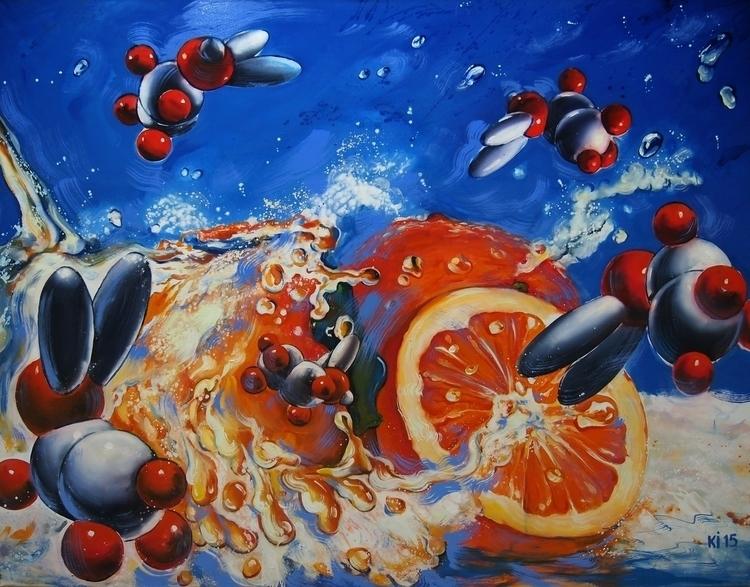 oranges - painting, #painting#conceptart#illustration - igorkonovalov   ello