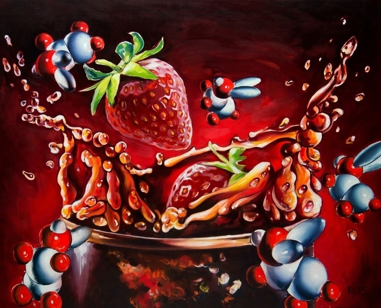 Strawberry - painting - igorkonovalov | ello