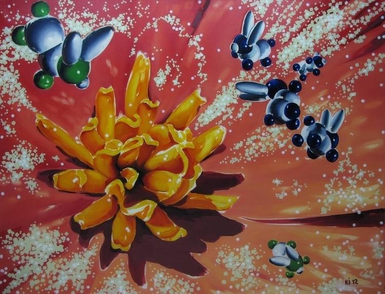 flora - painting, illustration - igorkonovalov | ello