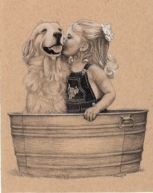 'Tub Buddies - drawing - brandyhouse | ello