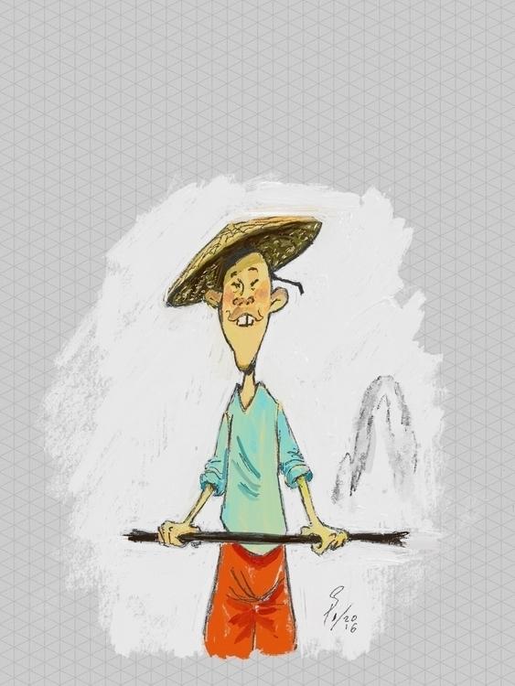 Ho Sin - illustration - yazzum | ello
